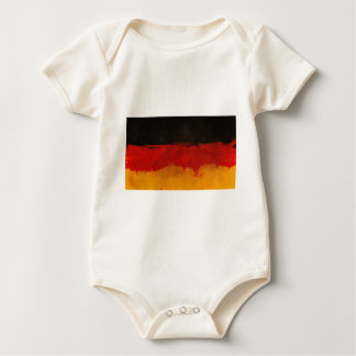 Germany Flag Home Country Black Red Gold Baby Bodysuit