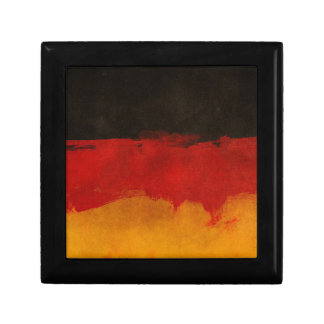 Germany Flag Home Country Black Red Gold Gift Box
