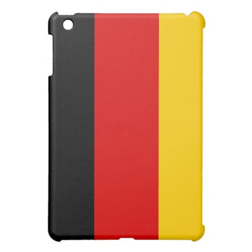 Germany Flag Cover For The iPad Mini