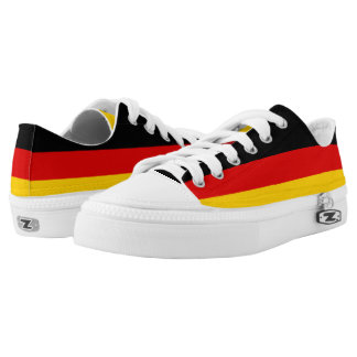 Germany Flag Low Tops