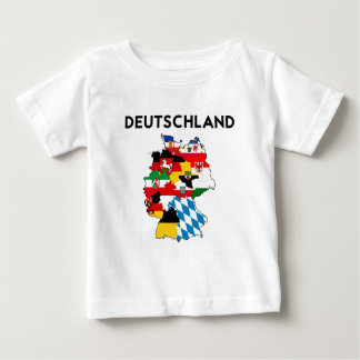 germany flag map baby T-Shirt