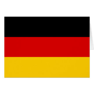 Germany Flag Note Card