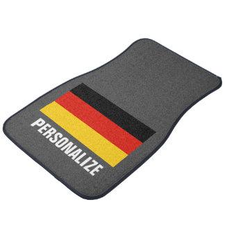 Germany flag of Germany custom car mat set