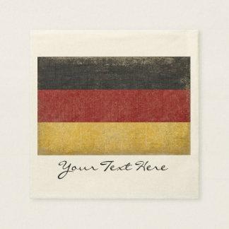 Germany Flag Party Napkins Disposable Serviette