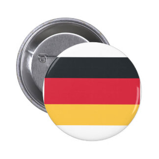 Germany flag using Twitter emoji 6 Cm Round Badge