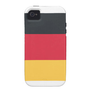 Germany flag using Twitter emoji Case-Mate iPhone 4 Cover