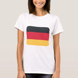 Germany flag using Twitter emoji T-Shirt
