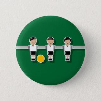 Germany foosball 6 cm round badge