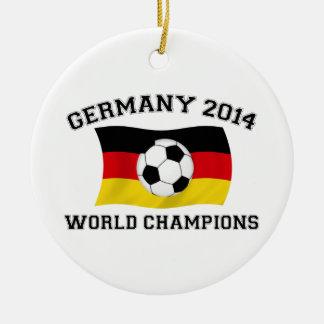 Germany Football Champions 2014 Ceramic Ornament