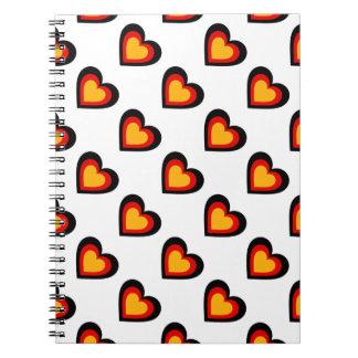 Germany/German flag-inspired Personnalised Notebooks