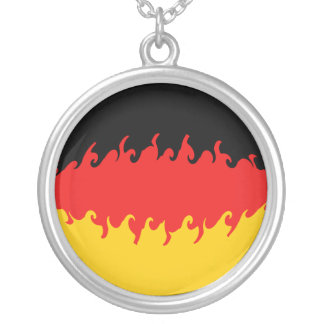 Germany Gnarly Flag Personalized Necklace
