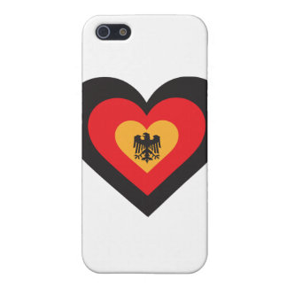 Germany Heart iPhone 5/5S Cover