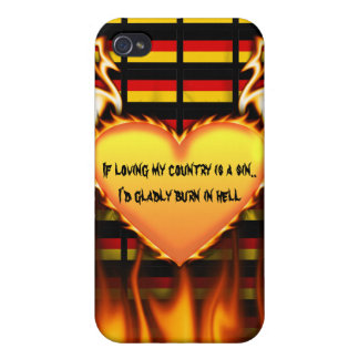 germany If loving my country is a sin iPhone 4 Cases