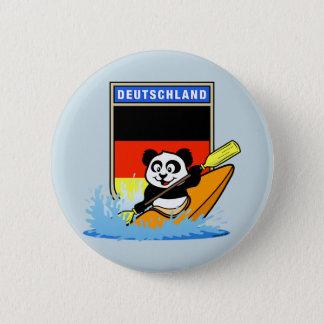 Germany Kayaking Panda 6 Cm Round Badge