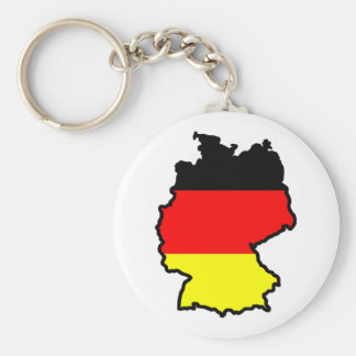 GERMANY MAP FLAG KEY CHAINS