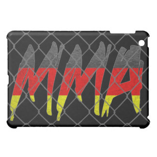 Germany MMA black iPad case