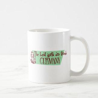 GERMANY CLASSIC WHITE COFFEE MUG