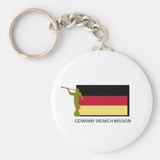 GERMANY MUNICH MISSION LDS CTR KEYCHAIN