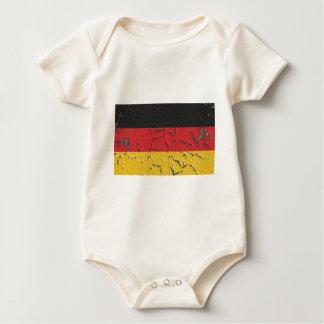 Germany Nation Europe Flag National Patriotism Baby Bodysuit