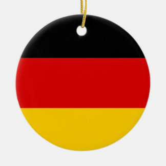 Germany National World Flag Ceramic Ornament