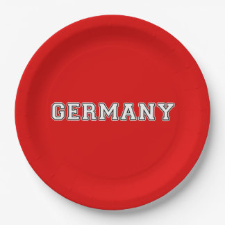 Germany Paper Plate