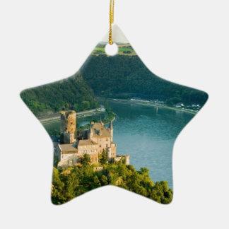 Germany  rhine [kan.k].JPG Ceramic Ornament