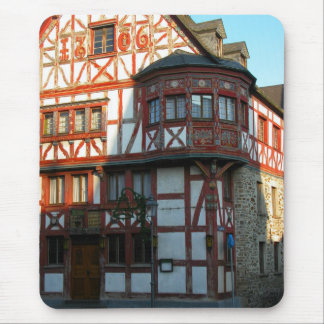 Germany, Rhineland, Rhens, half timbered houses Mousepads