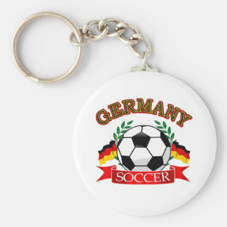 Germany soccer ball designs key chains