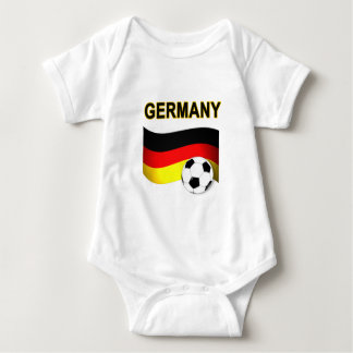 germany soccer football world cup 2010 baby bodysuit