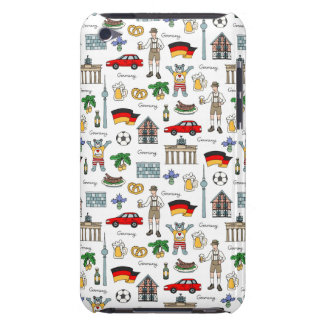 Germany | Symbols Pattern Barely There iPod Cover