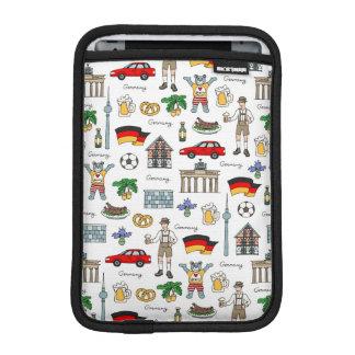 Germany   Symbols Pattern iPad Mini Sleeve