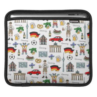 Germany   Symbols Pattern iPad Sleeve