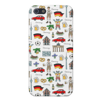 Germany | Symbols Pattern iPhone 5/5S Covers
