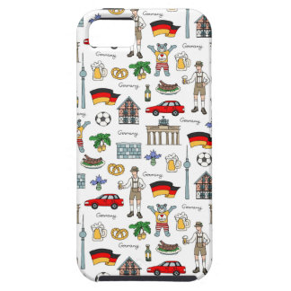 Germany | Symbols Pattern iPhone 5 Cover