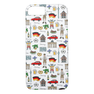 Germany | Symbols Pattern iPhone 8/7 Case