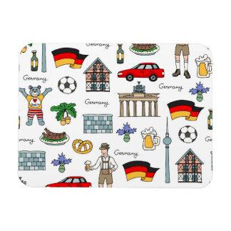 Germany | Symbols Pattern Magnet