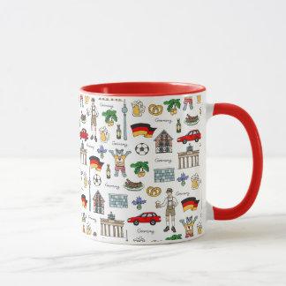 Germany | Symbols Pattern Mug