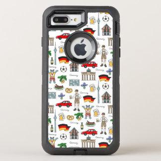 Germany   Symbols Pattern OtterBox Defender iPhone 8 Plus/7 Plus Case