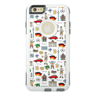 Germany   Symbols Pattern OtterBox iPhone 6/6s Plus Case