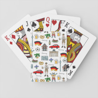 Germany | Symbols Pattern Playing Cards