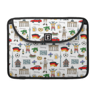 Germany | Symbols Pattern Sleeve For MacBooks