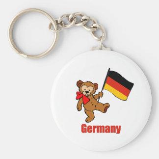 Germany Teddy Bear Keychain