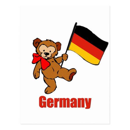 Germany Teddy Bear Post Card