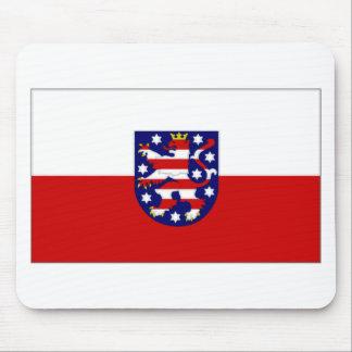 Germany Thuringia Flag Mouse Pad