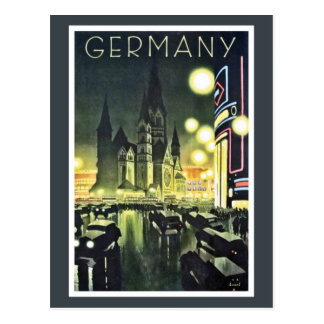 Germany travel ad (Berlin) Postcard