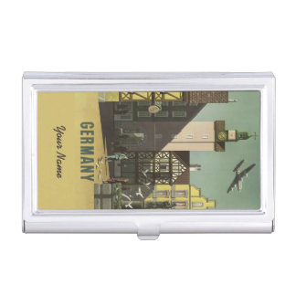 GERMANY Vintage Travel business card holder