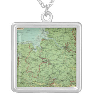 Germany western section silver plated necklace