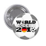 Germany World Cup Round Button