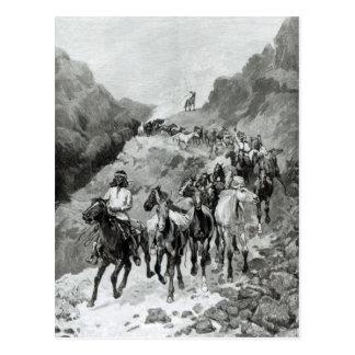 Geronimo and his Band Postcard