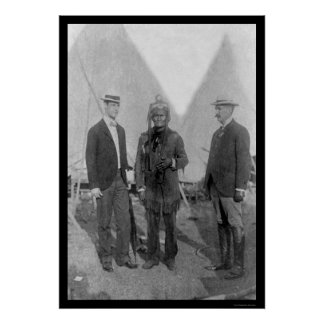 Geronimo at the Pan-American Expo 1911 Poster